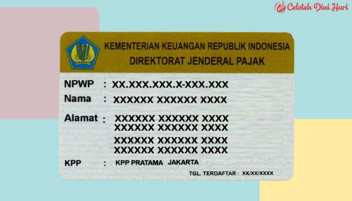 fungsi NPWP