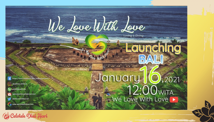 we love with love Bali