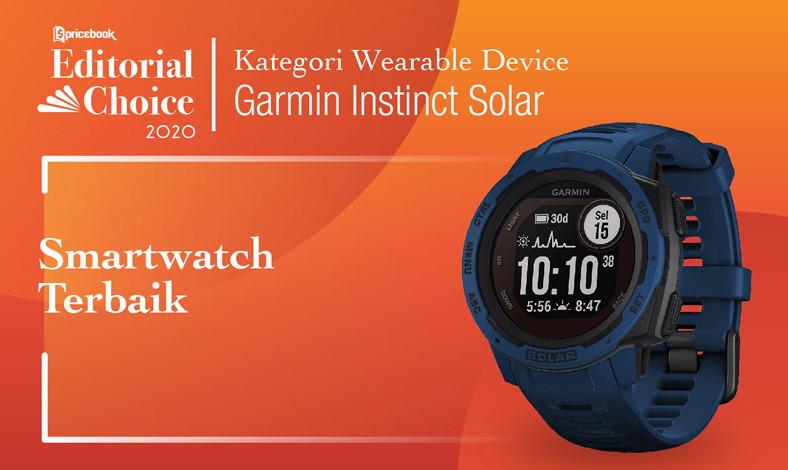 Smartwatch Terbaik Garmin Instinct Solar